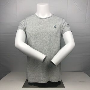 Ralph Lauren Polo Gray Short Sleeve Cotton T Shirt